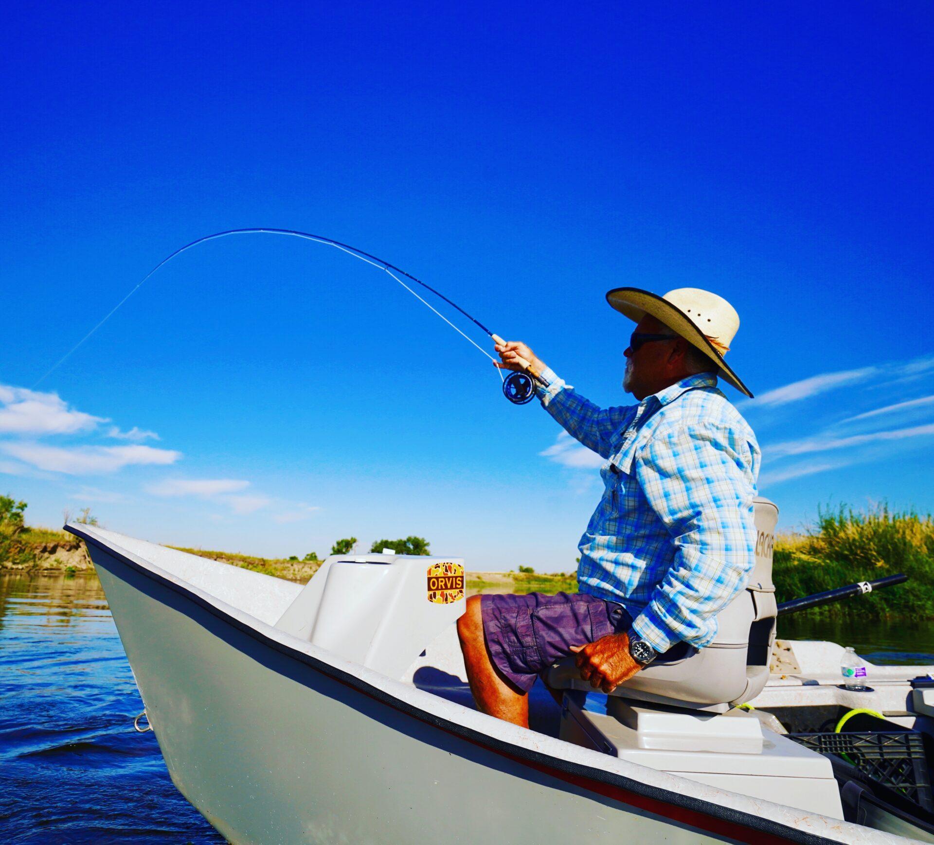 Anglers hook -up regularly on Montana's Missouri River