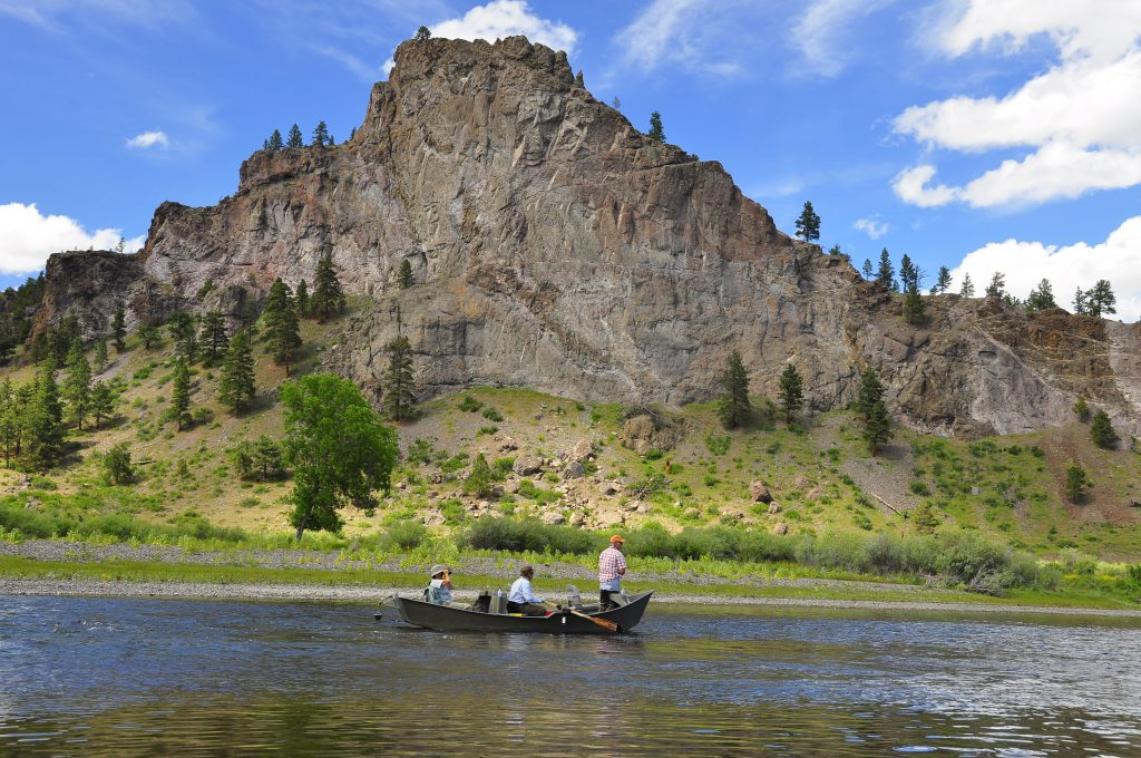 Fly fishing the Missouri River