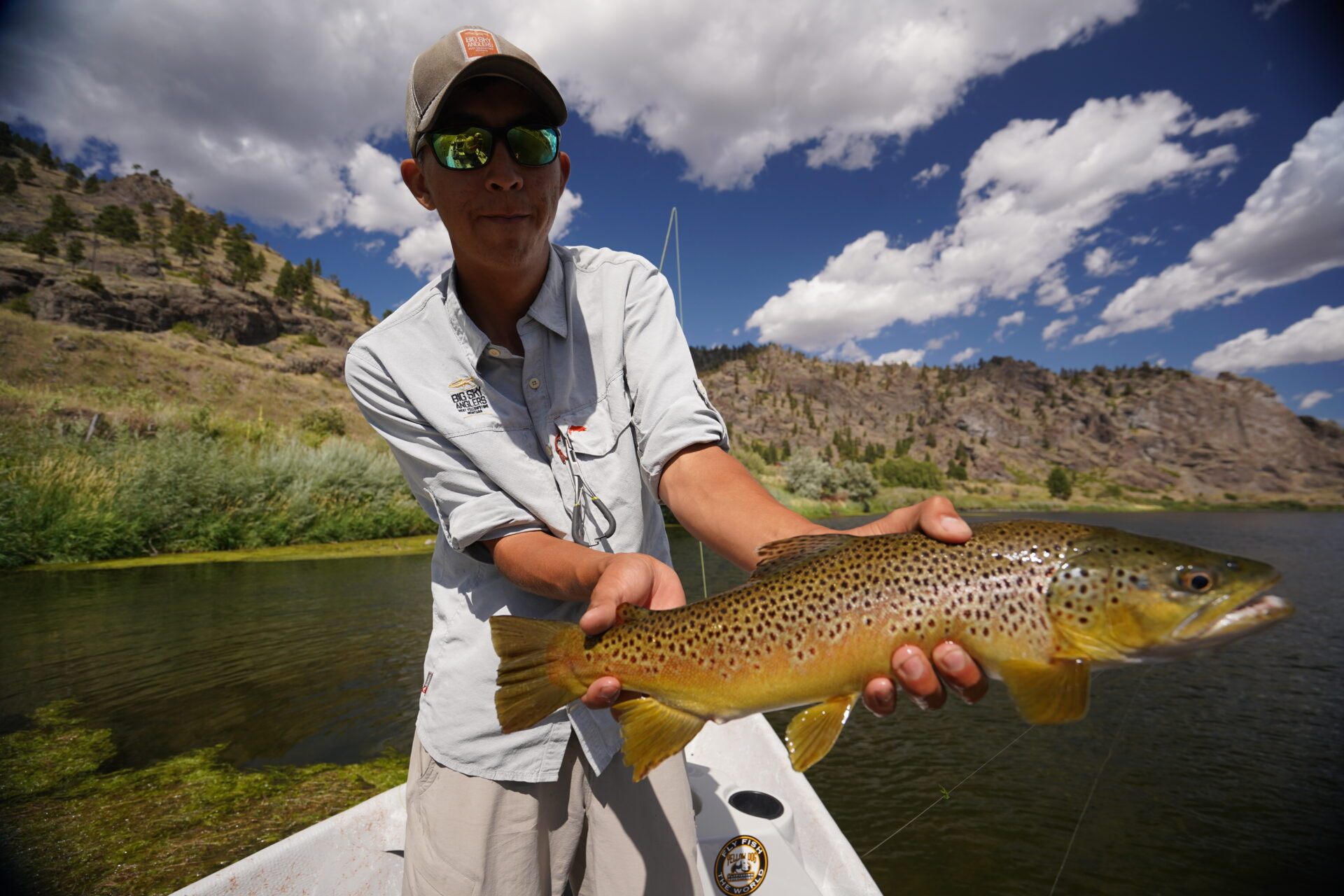 Hopper fishing can be great on Montana's Missouri River