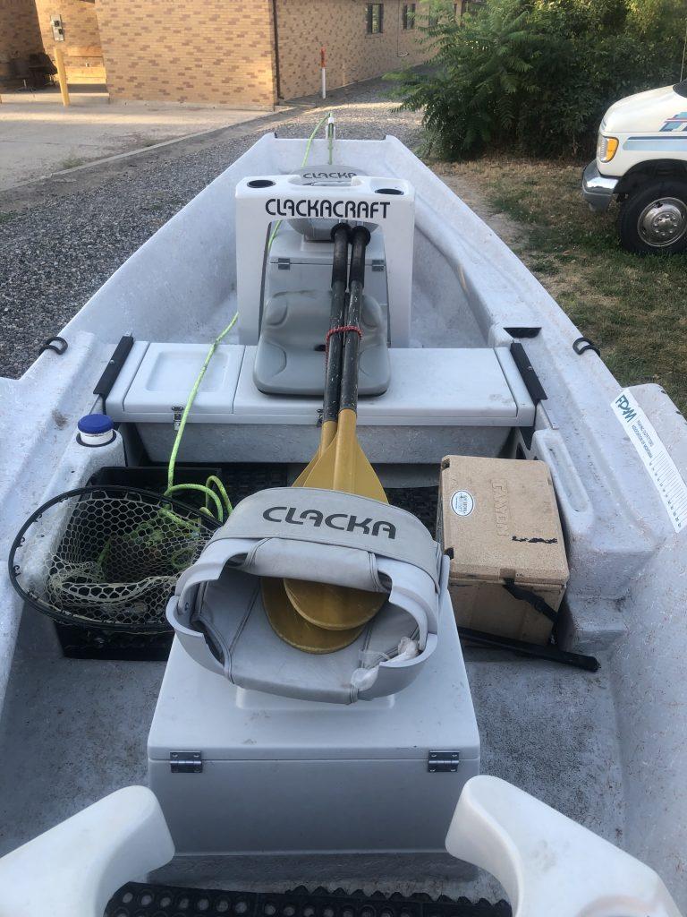 Drift Boat - Clackacraft -eddy